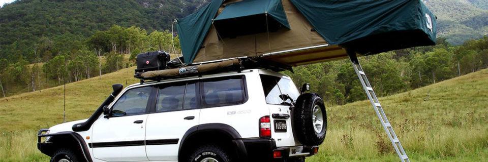 Roof Top Tent Safari Vehicle
