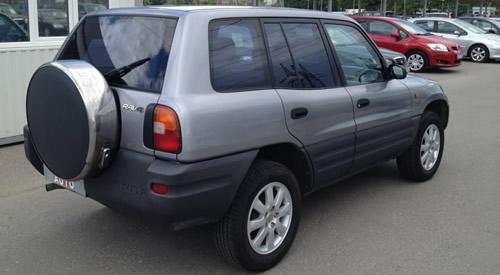 Toyota-Rav-4 Silver